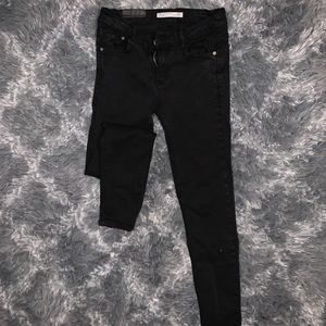 Zara faded black jeans